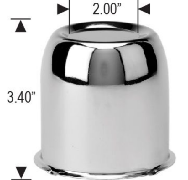 Cap 1351L - Push Thru cap