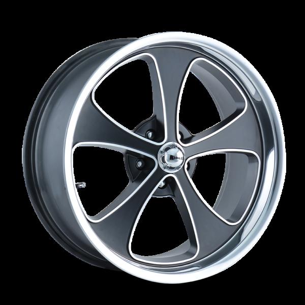 RIDLER 645 Matte Black Wheel