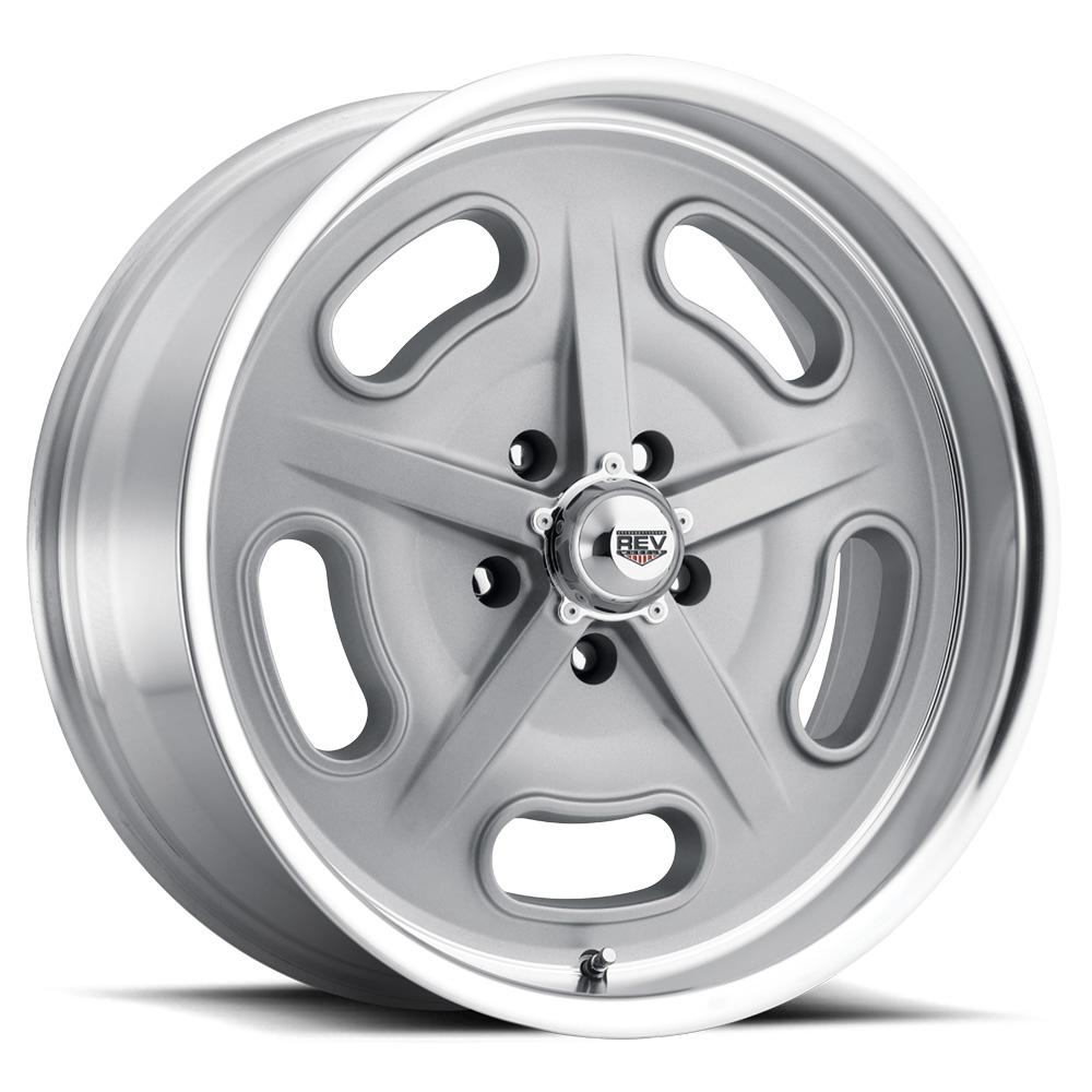 Rev Wheels 111 Racer Gray Salt Flat
