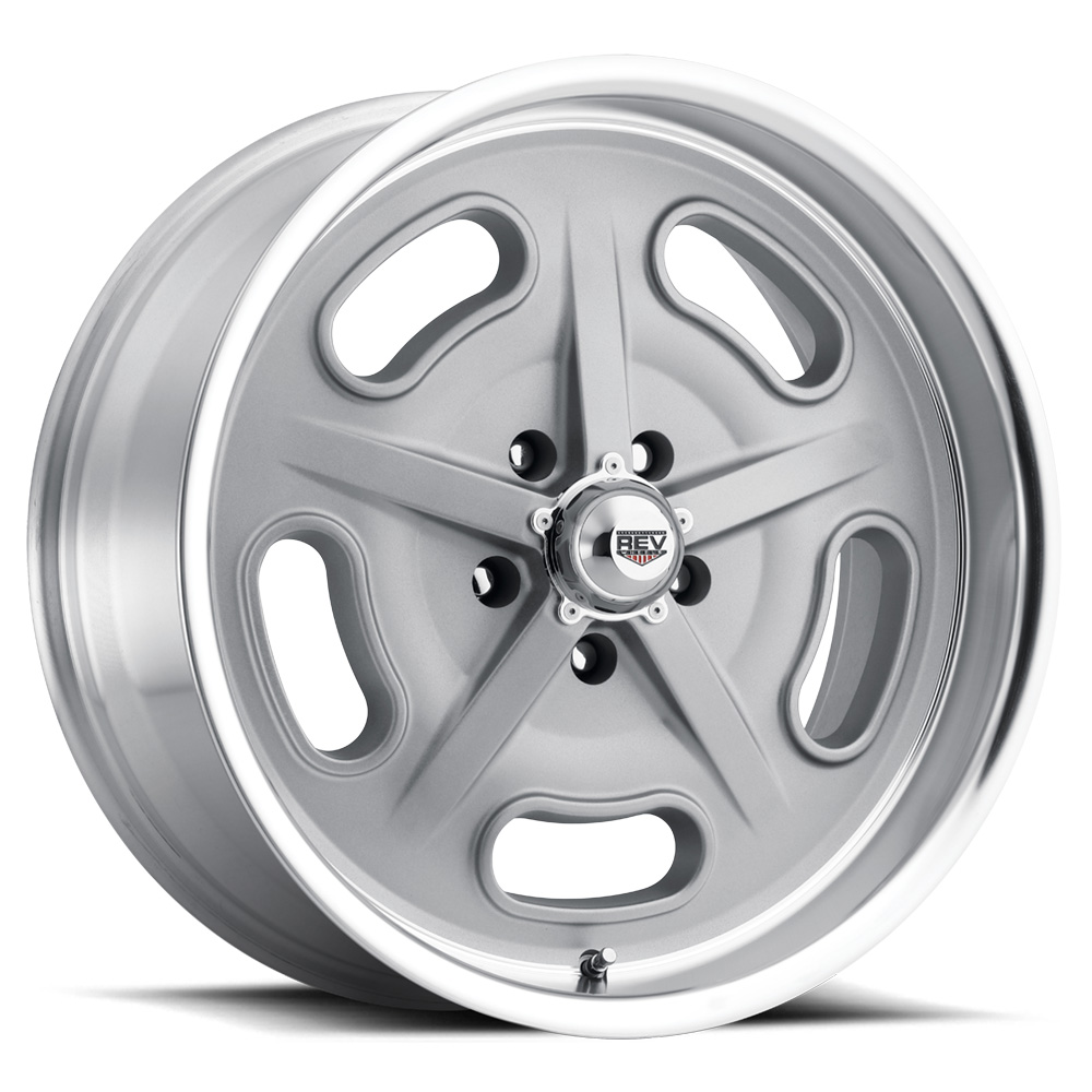Rev Wheels 111 Racer Gray Salt Flat