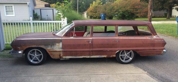 Ridler Wheels -605-Impala station wagon