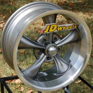 Ridler-695-Wheels 17x8-Gray