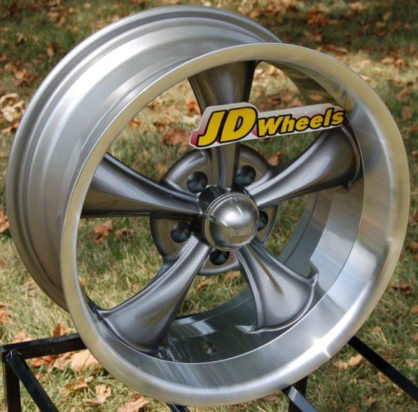 Ridler-695-Wheels 17x8-Gray