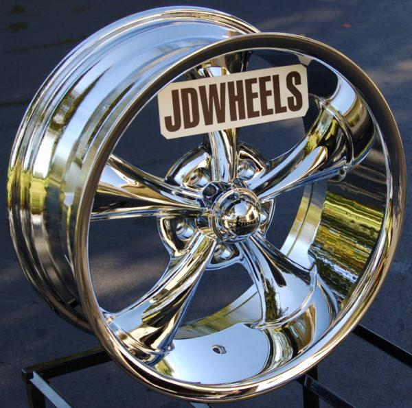 Ridler Wheels 695-18x8-Chrome