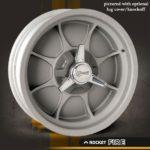 Rocket Racing Wheels-Fire-As-Cast