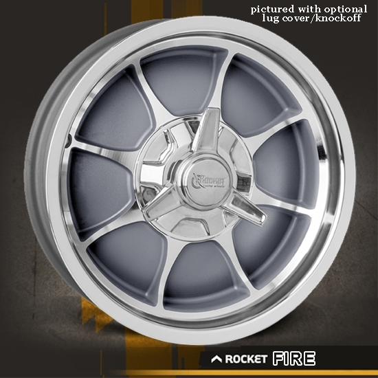 Rocket Racing Wheels-Fire-Gray