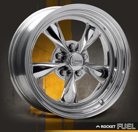 Rocket Racing Wheels-Fuel-Chrome