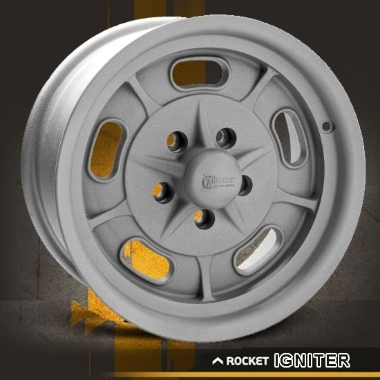 Rocket Racing Wheels-Igniter-As-Cast