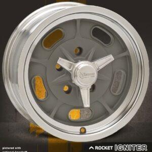 Rocket Racing Wheels-Igniter Gray