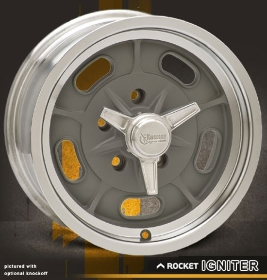 Rocket Racing Wheels-Igniter Gray