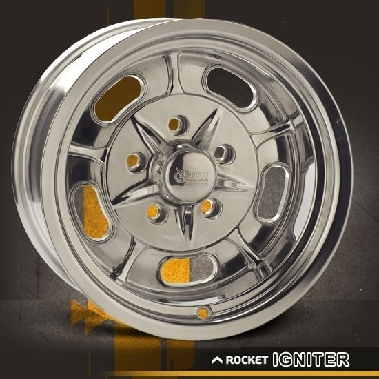 Rocket Racing Wheels-Igniter-Polished