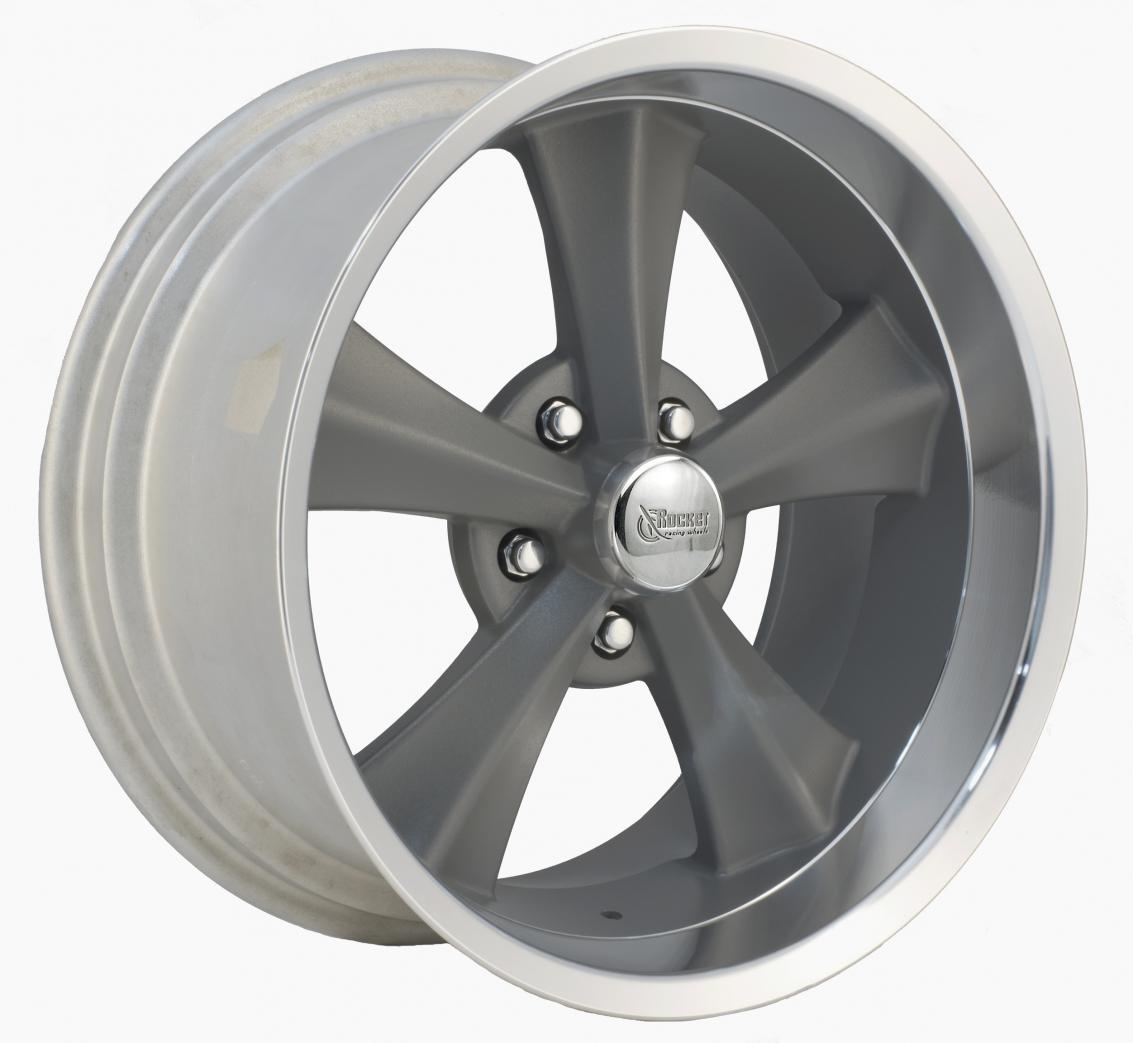 Rocket Racing Wheels Booster Gray