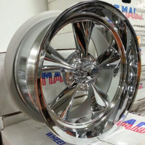 US Mags Standard-U104-Chrome-18x9