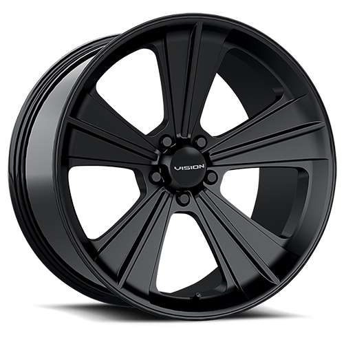 Vision_Wheels Missile_Satin_Black_5 lug