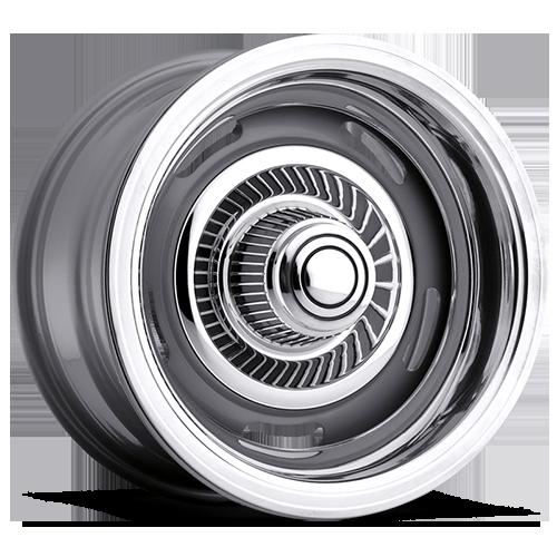 Vision Wheels 55 Rally Silver