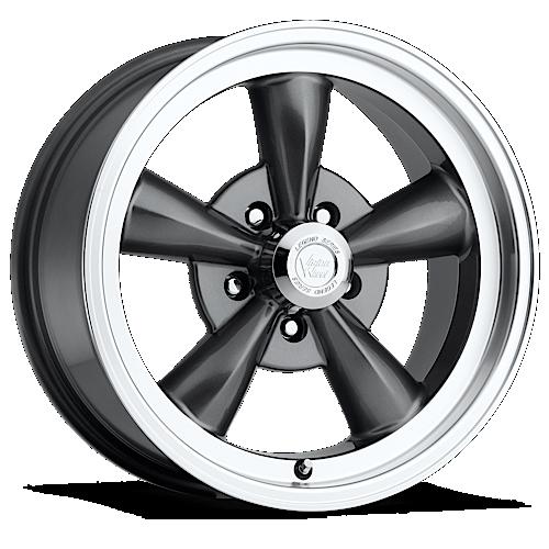vision_wheels 141_legend_5_gunmetal_machine_lip_5_lug_17x8