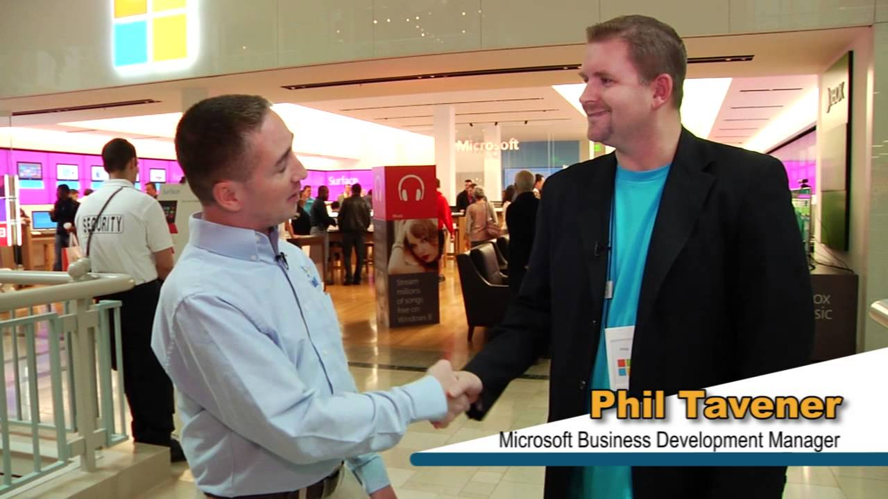 Video Image: Microsoft Event to Launch Windows 8 with Link High Technologies