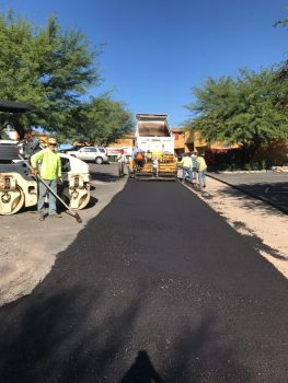 Milling & New Paving