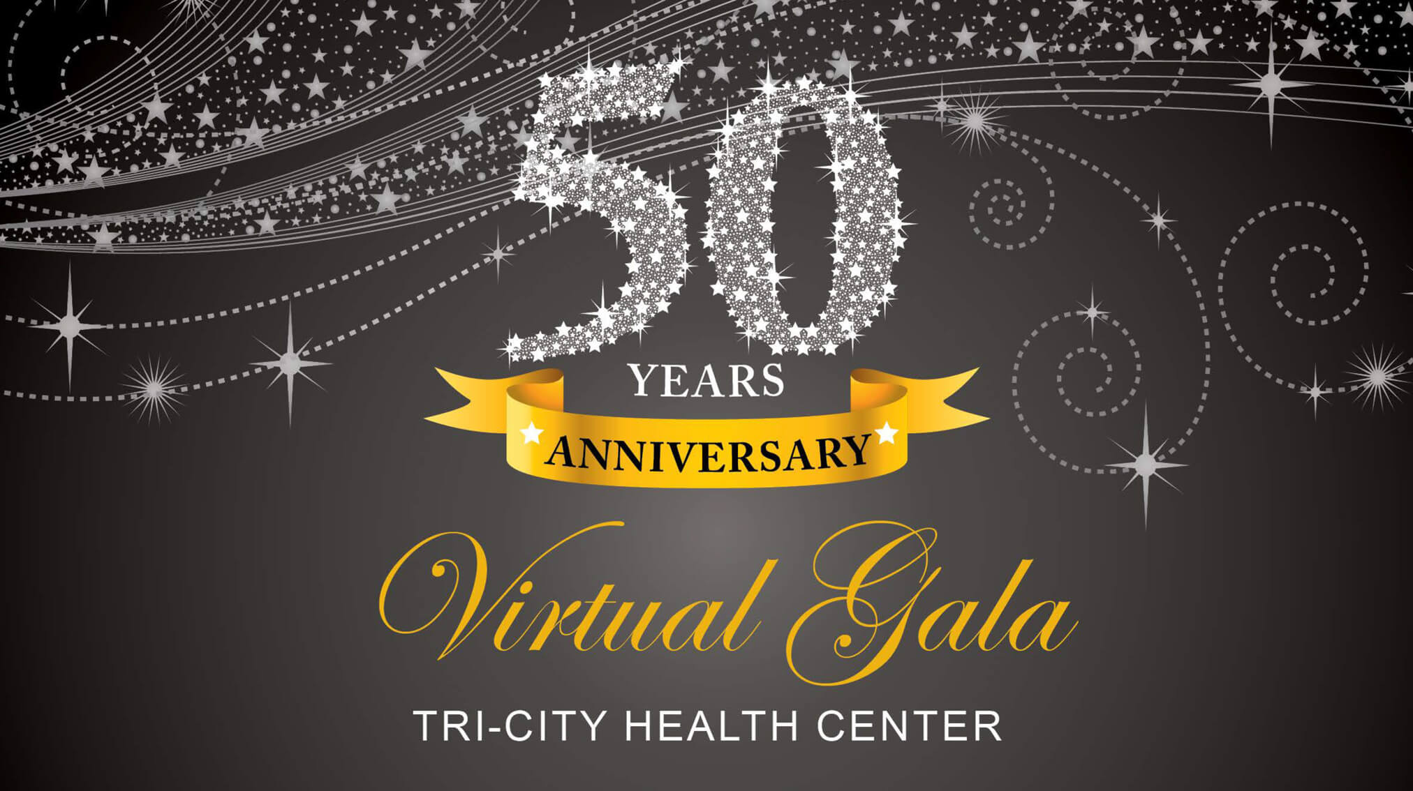 Tri-City Health Center Celebrates 50 Years with our Virtual Gala