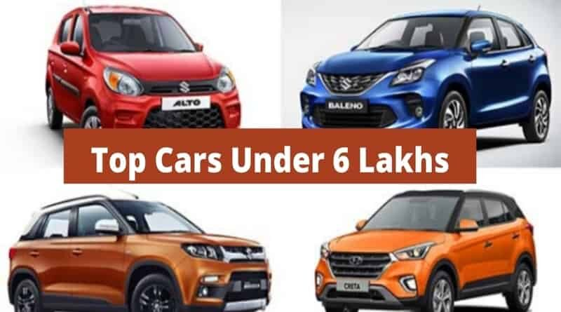 Top-cars-under-6-lakhs