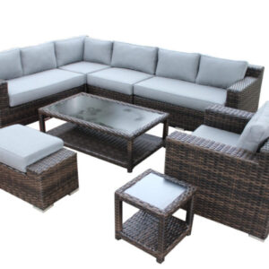 8 Piece Summerliving L-shaped sectional set