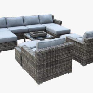 10 Piece Summerliving Sofa Set