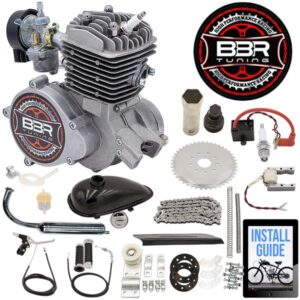 80cc BBR Tuning Angle Fire Bicycle Engine Kit - 2 Stroke