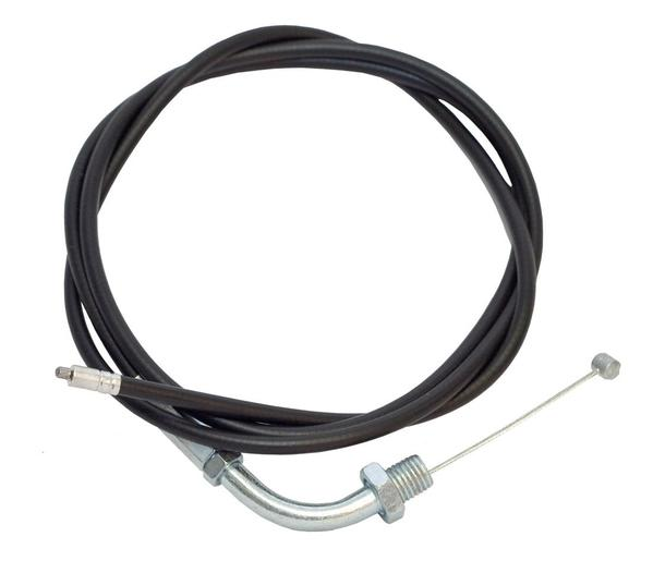 Custom throttle and clutch cables for motorized bicycles