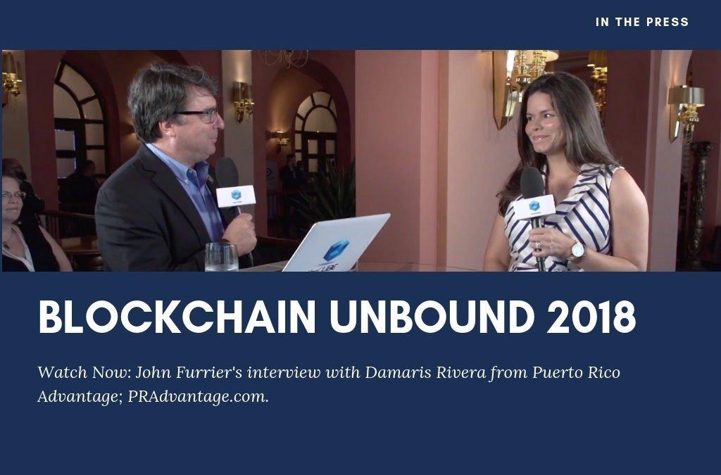 Blockchain Unbound 2018 Interview with Damaris Rivera