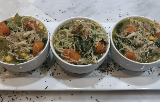 Chicken and Vegetable Noodle Soup