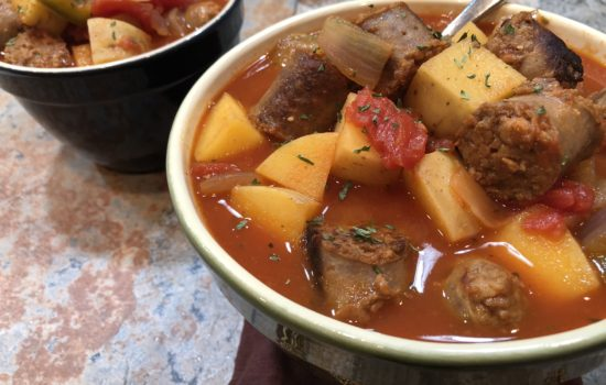Savory Italian Sausage and Vegetables