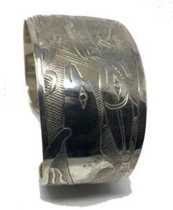 nuxalk silver jewelry