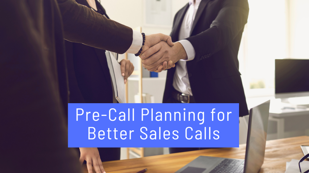 Pre-Sales Call Planning