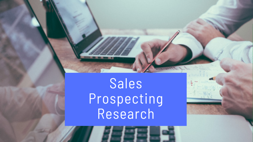 Sales Prospecting Research