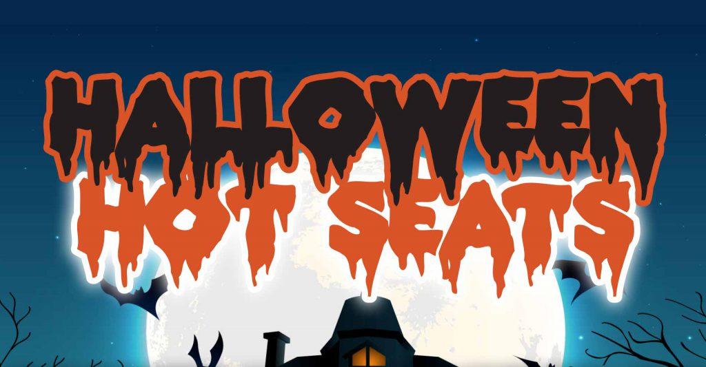 Halloween Hot Seat Drawings