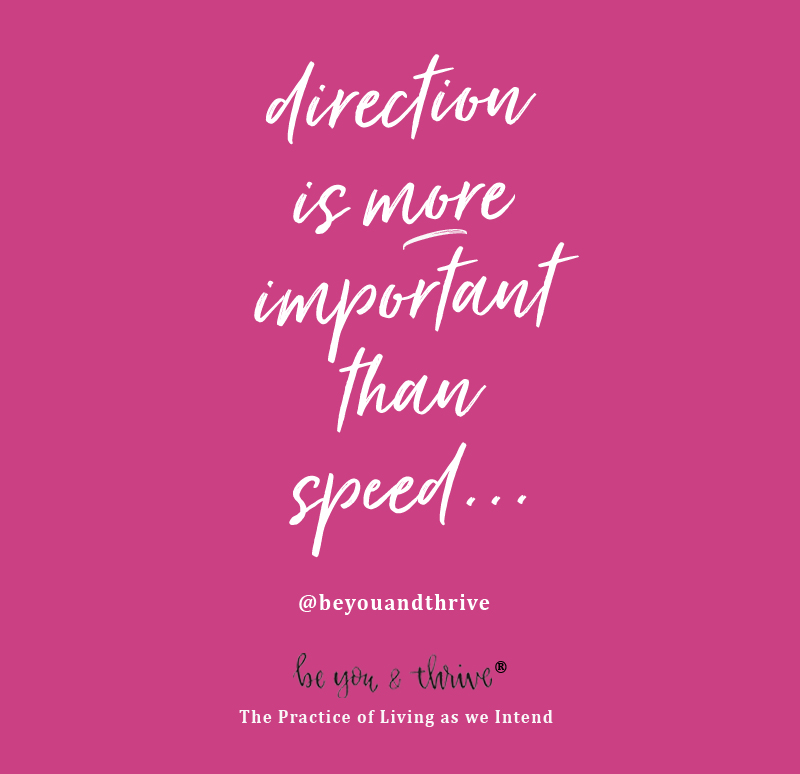 DIRECTION MORE IMPORTANT