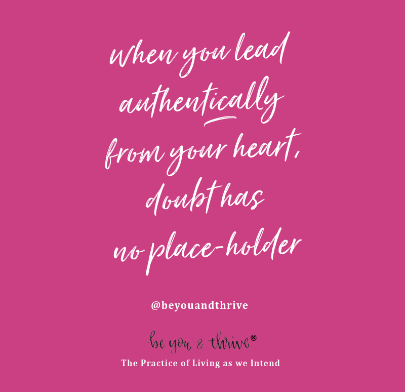 lead authentically pink