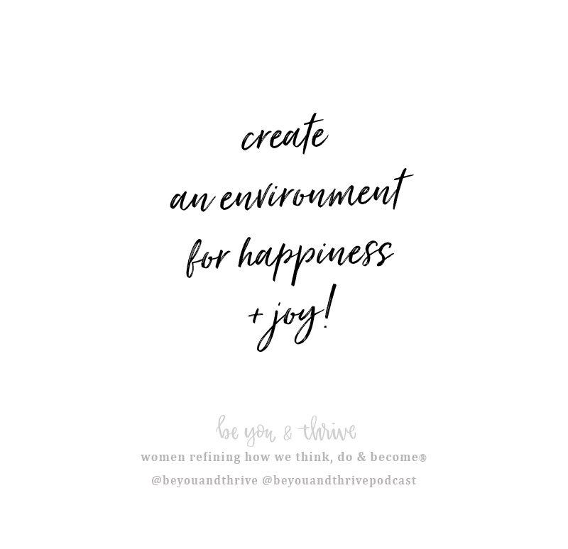 create an environment