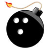 Blowing up your foreclosed home with a bowling ball bomb, now that's clever
