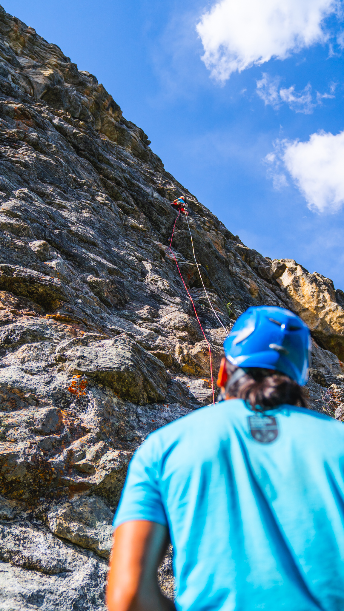 Spear-O-Wigwam Rock Climbing with Bighorn Mountain Guides Wyoming
