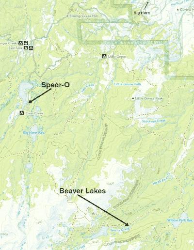 Spear-O-Wigwam map