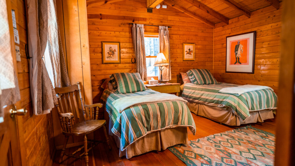 Porcupine Cabin at Spear-O-Wigwam, Wyoming