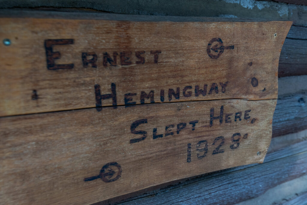 Hemmingway 2 Cabin at Spear-O-Wigwam, Wyoming