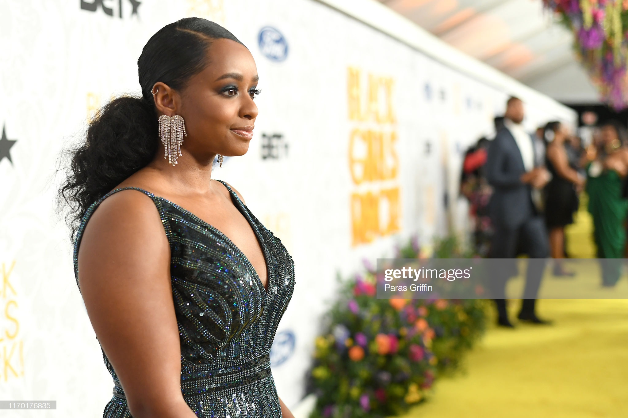 NEWARK, NEW JERSEY - AUGUST 25:  Tiffany Davis attends Black Girls Rock 2019 Hosted By Niecy Nash at NJPAC on August 25, 2019 in Newark, New Jersey.  (Photo by Paras Griffin/Getty Images for BET)