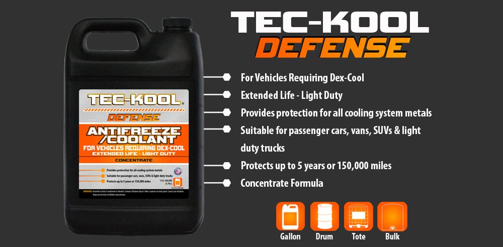 Tec-Kool Defense Orange Concentrate