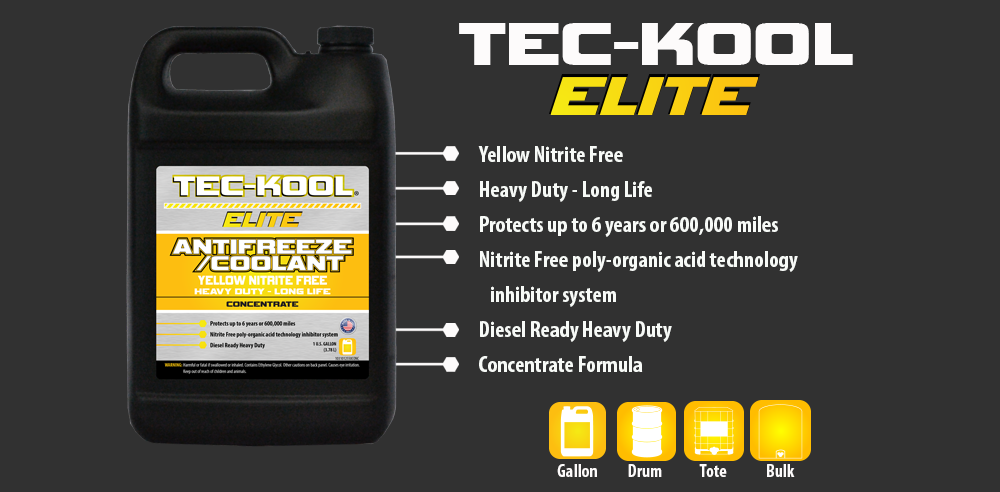 Tec-Kool Elite Yellow Concentrate