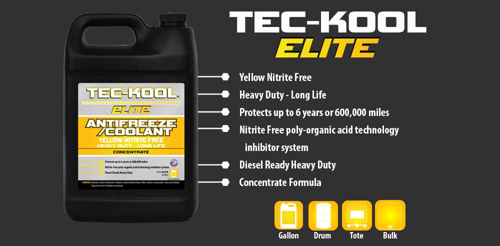 Tec-Kool Elite Yellow Concentrate
