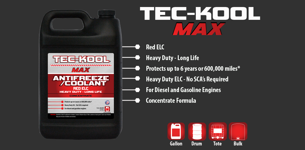Tec-Kool Max Red Concentrate