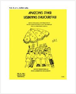 1983-07_AHLA_5_vol. II no 1