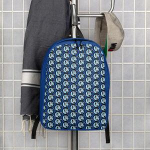 Minimalist Nevuary tired logo pattern Backpack